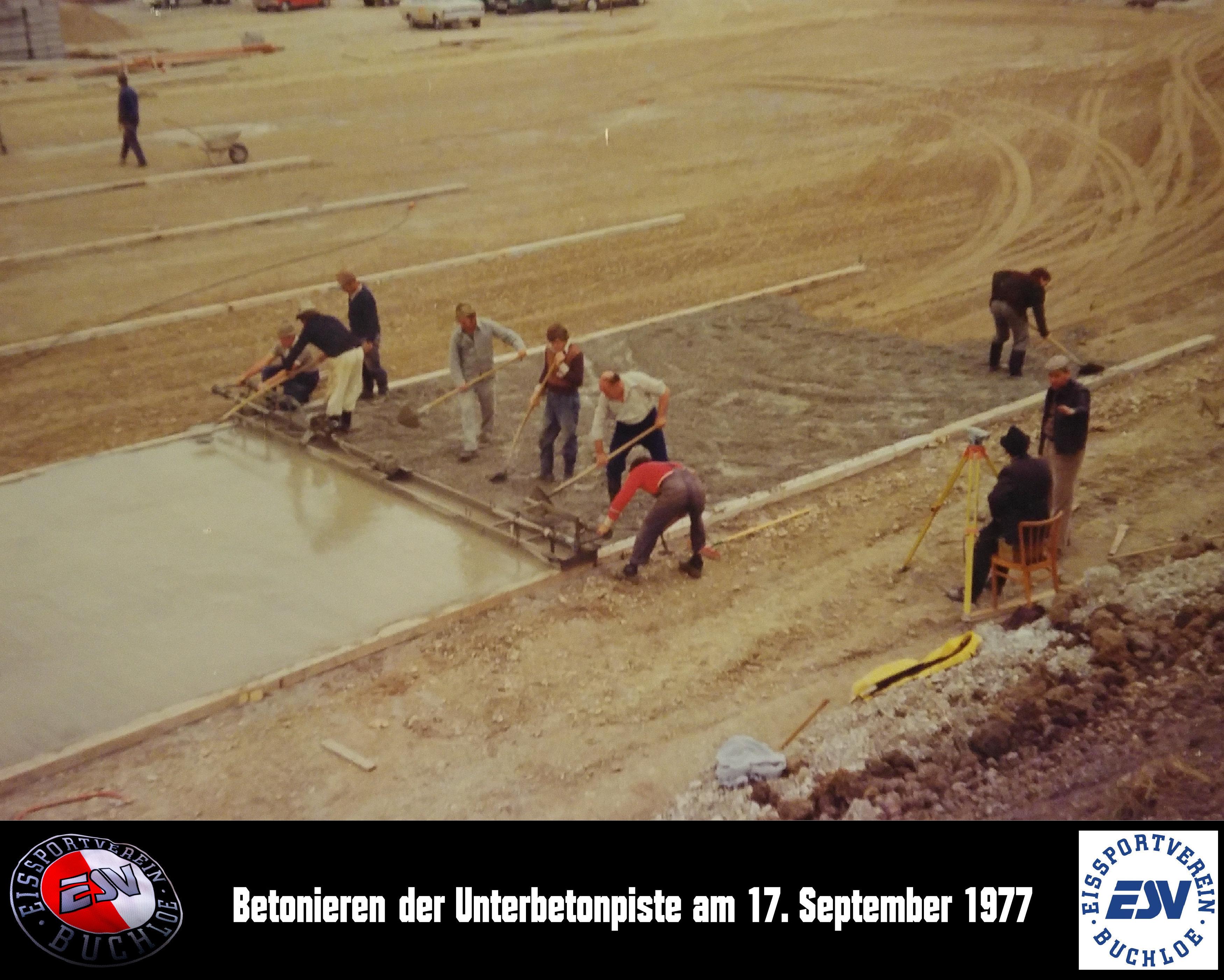 05 Betonieren der Unterbetonpiste