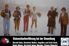 18 Eiskunstlaufvorführung zur Einweihung