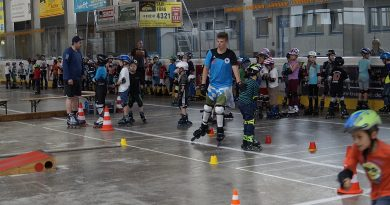 Viel Action und Spaß bei der Aktion Roller-Kid`s Woche in den Pfingstferien